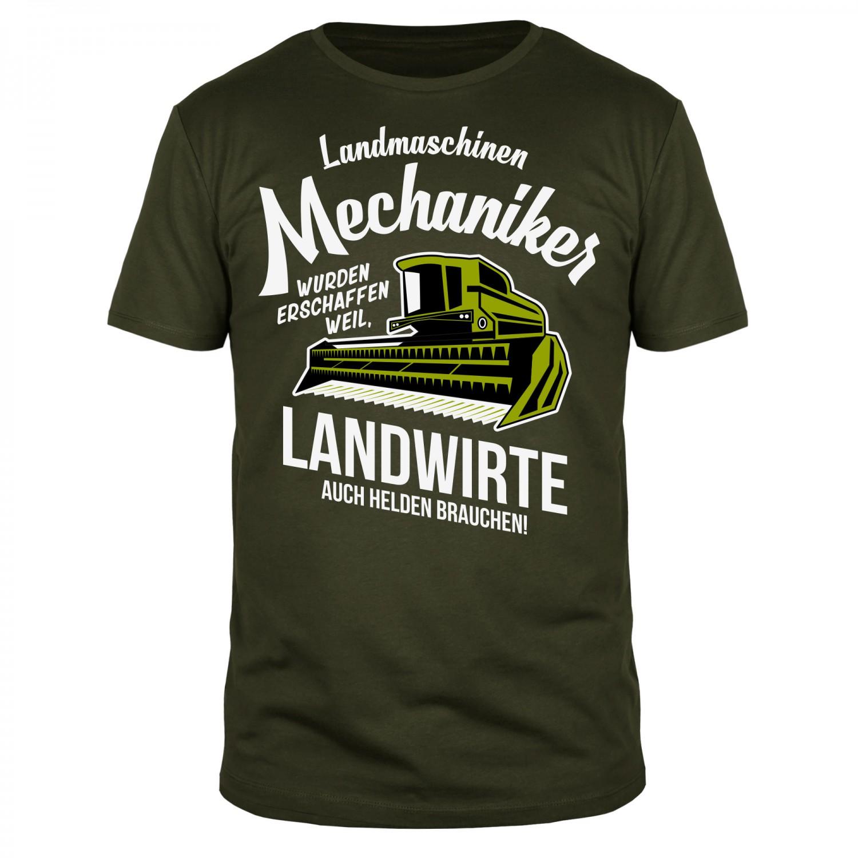Landwirt Kollektion (Oliv) - Männer T-Shirt