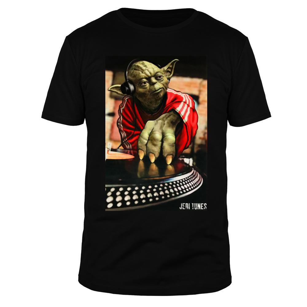 Yoda Jedi DJ - Männer T-Shirt