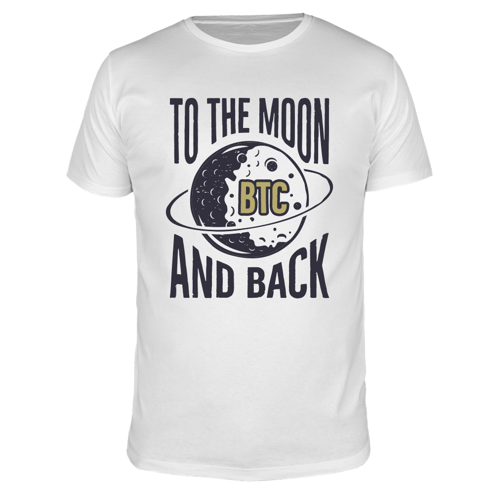 To The Moon BTC - Männer T-Shirt