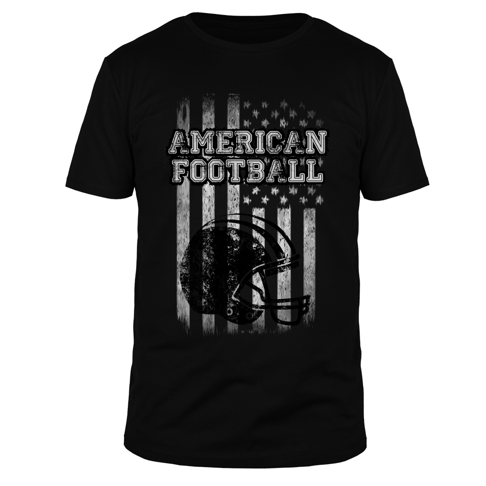 American Football Stars & Stripes - Männer T-Shirt