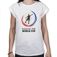 Russland 2018 World Cup - Fußball WM - Damen T-Shirt