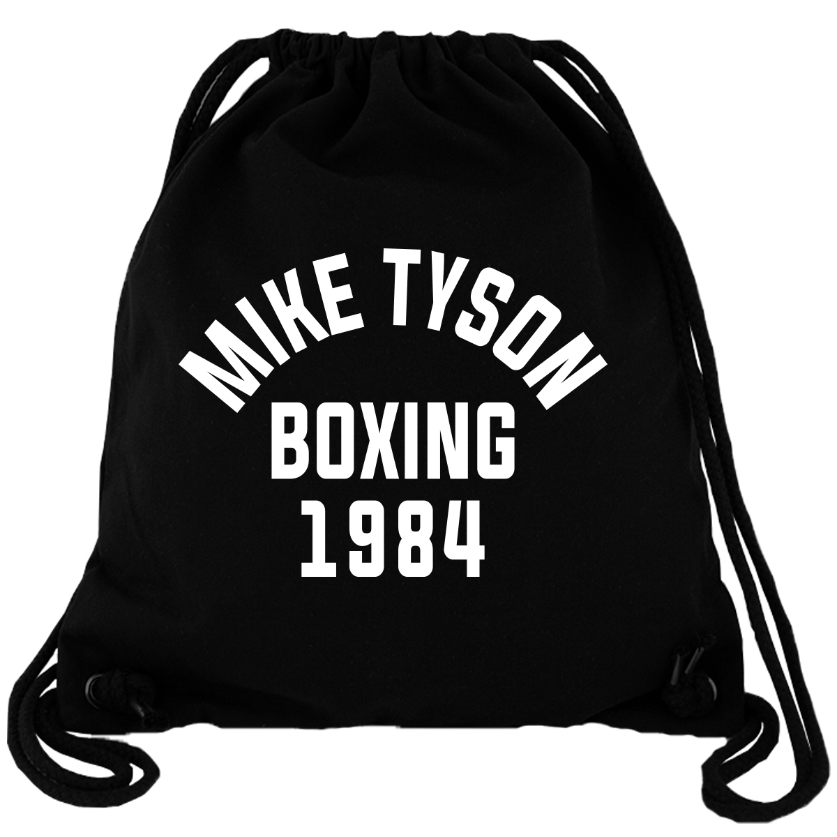 Mike Tyson Boxing 1984 - Gym Bag Turnbeutel