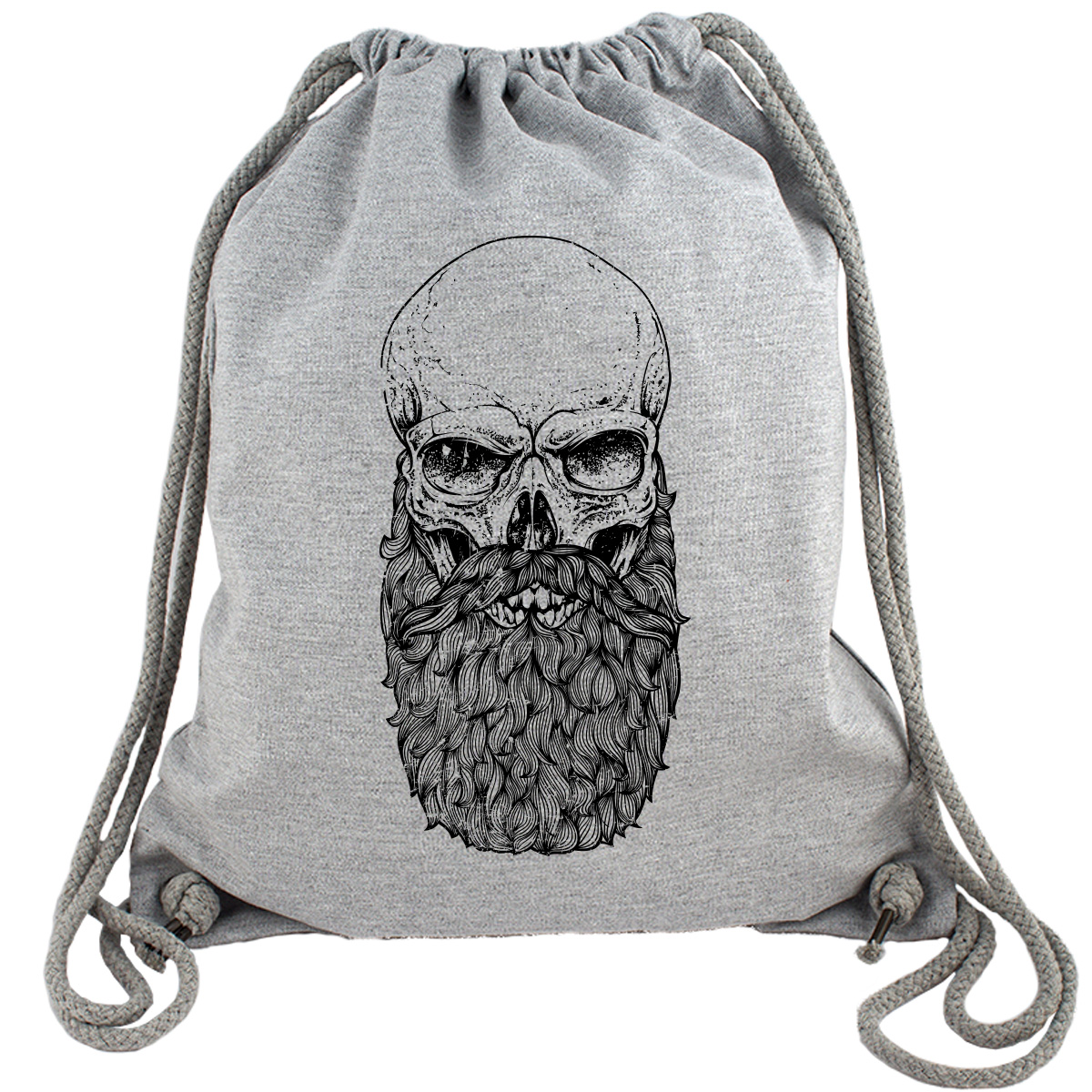 Skull Beard - Gym Bag Turnbeutel