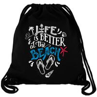 Life is better at the Beach - Gym Bag Turnbeutel