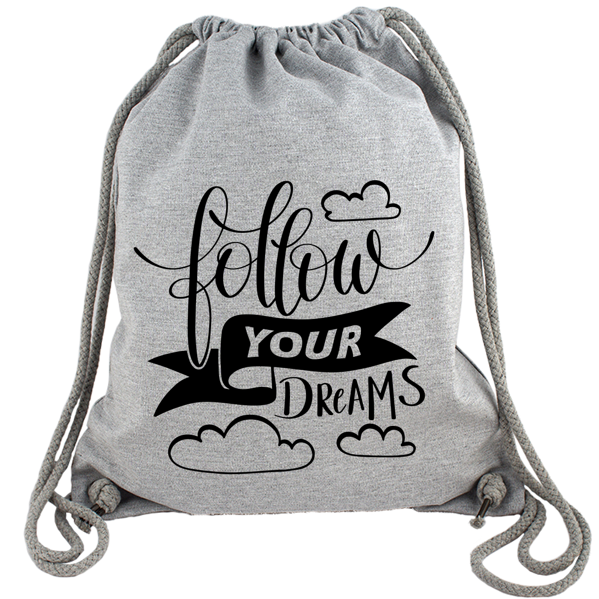 Follow Your Dreams - Gym Bag Turnbeutel