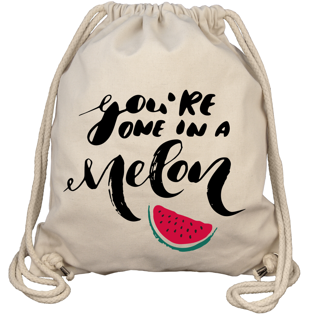 You're One In A Melon - Gym Bag Turnbeutel