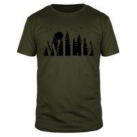 Wild Bushcraft - Männer Organic T-Shirt