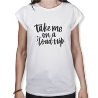 Take Me On A Road Trip - Damen T-Shirt
