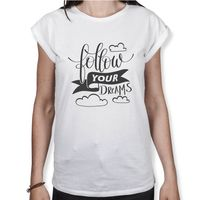 Follow Your Dreams - Damen T-Shirt