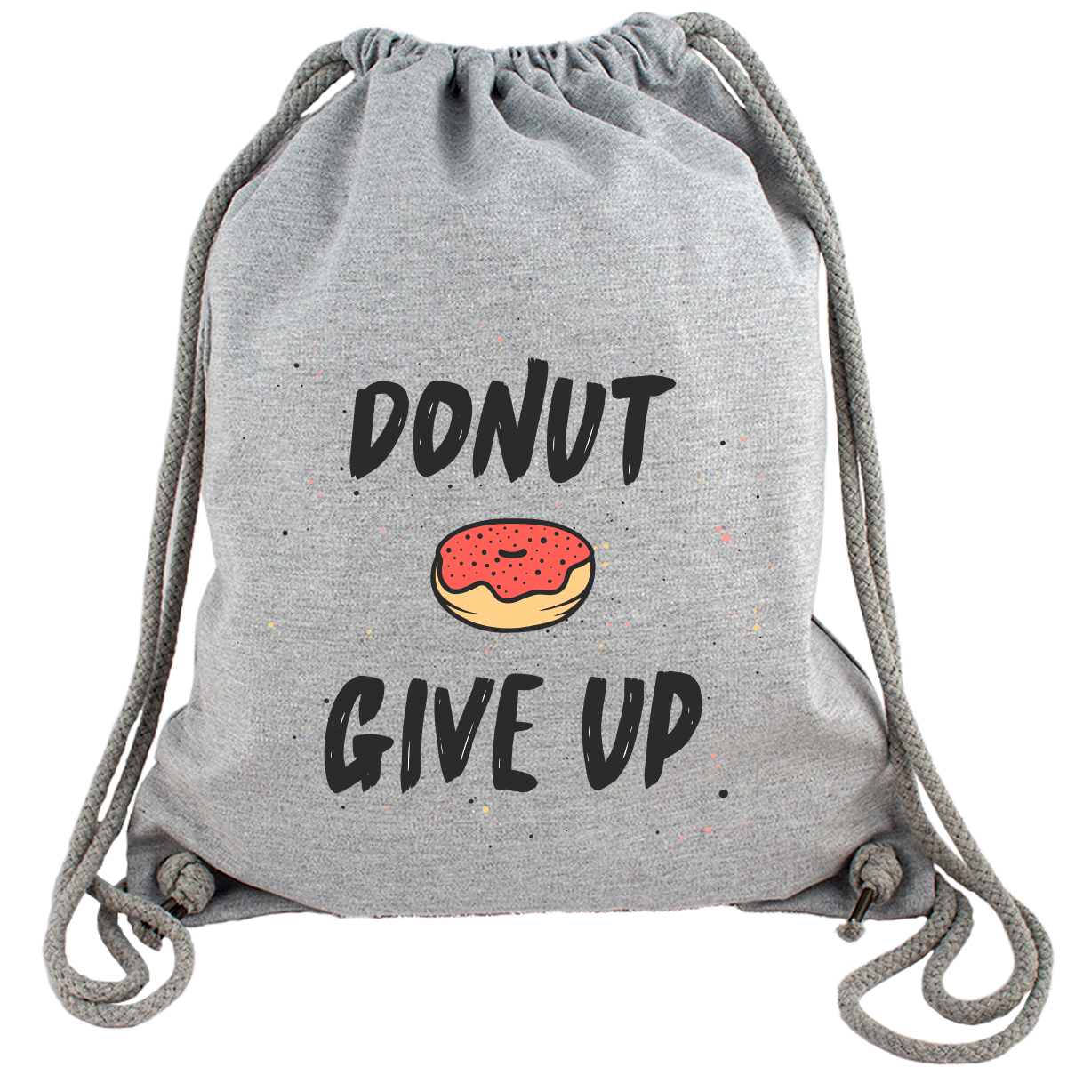 Donut give up - Gym Bag Turnbeutel