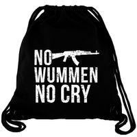 No Wummen No Cry - Gym Bag Turnbeutel