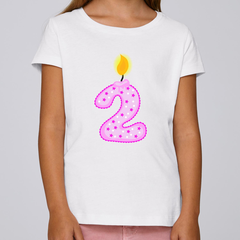 Kinder Madchen Shirt Jahreszahl Geburtstag Kinder T Shirt