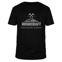 Bushcraft Outdoor Survival Adventure - Männer T-Shirt