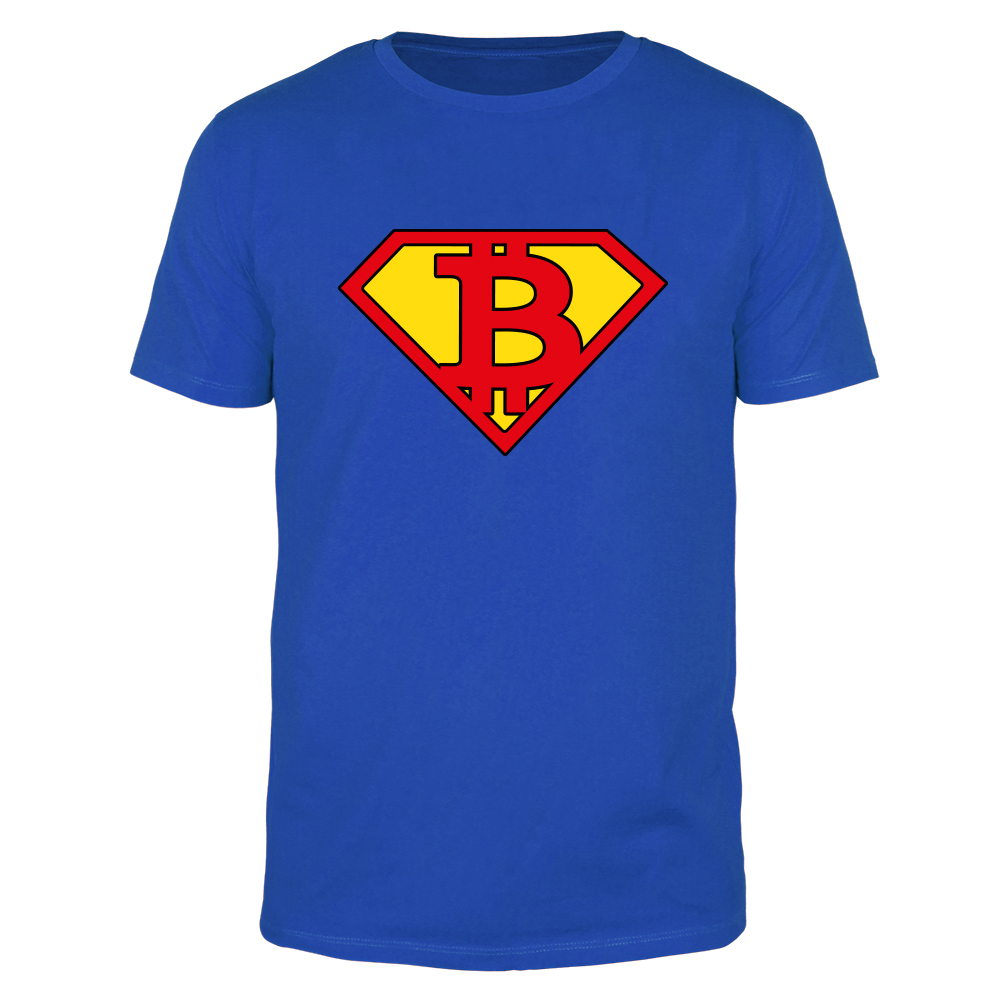 Bitcoin Superman - Männer T-Shirt