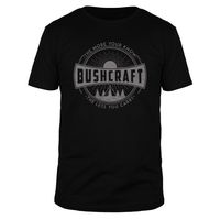 Bushcraft - the more you know  - Männer T-Shirt