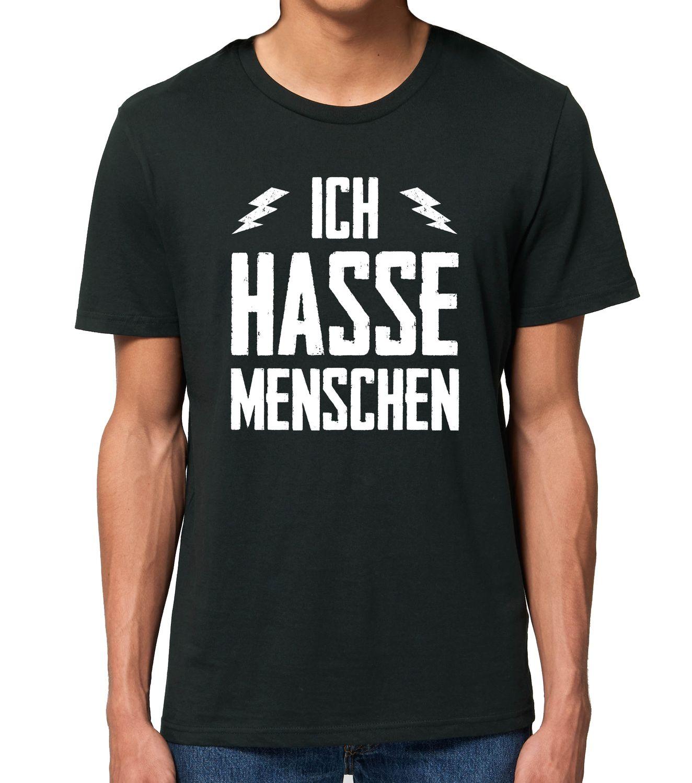 Ich hasse Menschen - Männer T-Shirt
