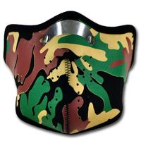WINDMASK Half Face Mask - Camouflage