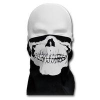 WINDMASK Face Bandana mit Klettverschluss - Skull Face I