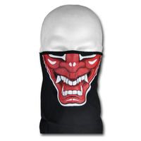 WINDMASK Face Bandana mit Klettverschluss - Red Devil