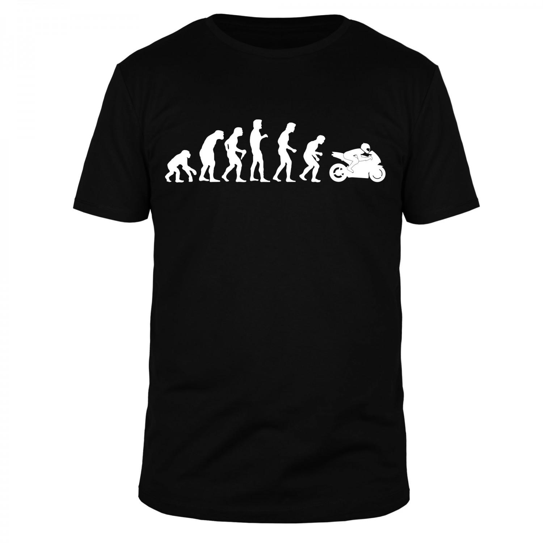 Evolution Motorrad Motorbike Race Bike - Männer Organic T-Shirt