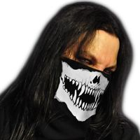 WINDMASK Winter Face Bandana Fleece Maske - Monster Skull Face Totenkopf