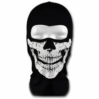 WINDMASK - GLOW IN THE DARK Sturmhaube - Totenkopf Skull Face 2