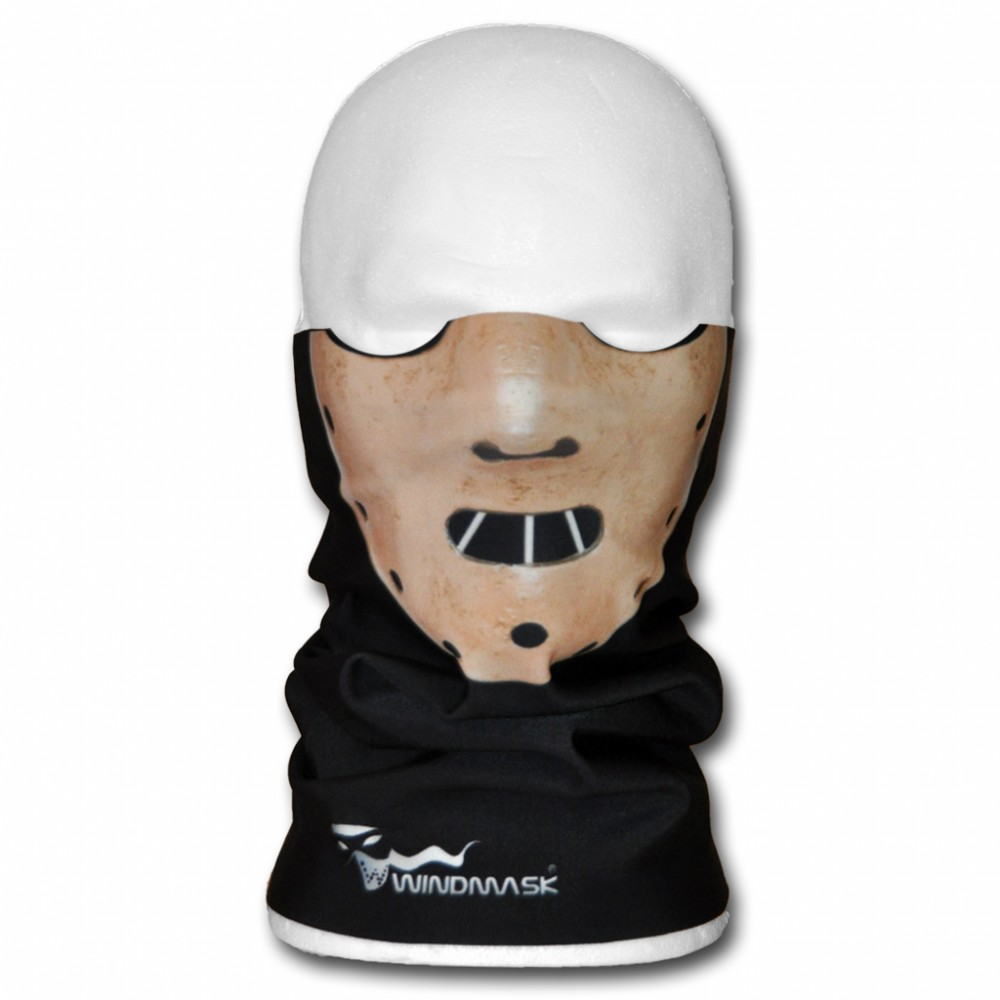 WINDMASK Ski Snowboard Winter Microfleece Tube - Hannibal Lector