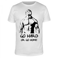 Go Hard Or Go Home - Männer T-Shirt