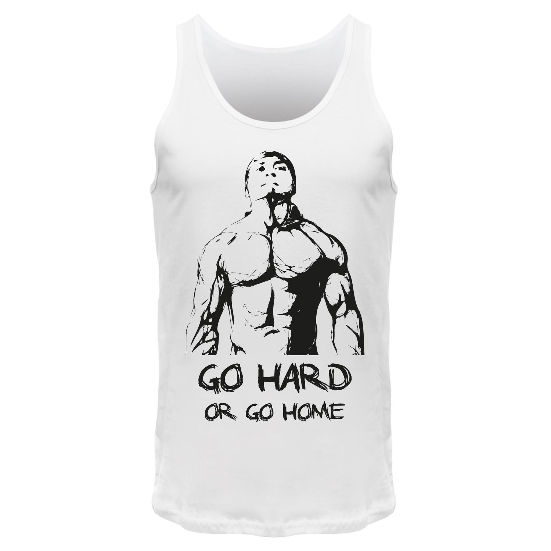 Go Hard Or Go Home – Männer Tank Top