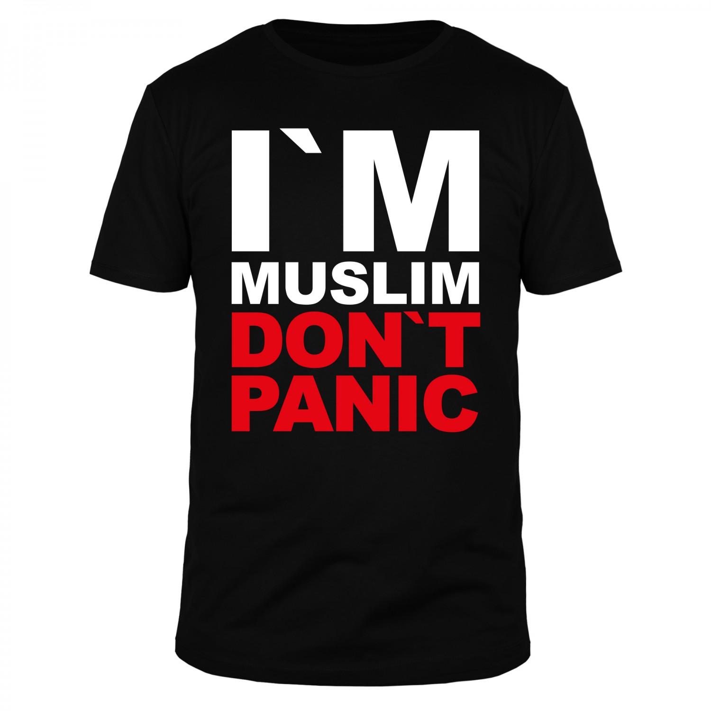 I am Muslim Dont Panic - Männer T-Shirt