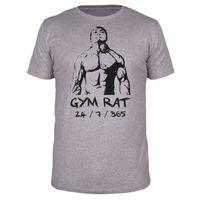 Gym Rat 24 / 7 / 365 -  Männer Organic T-Shirt
