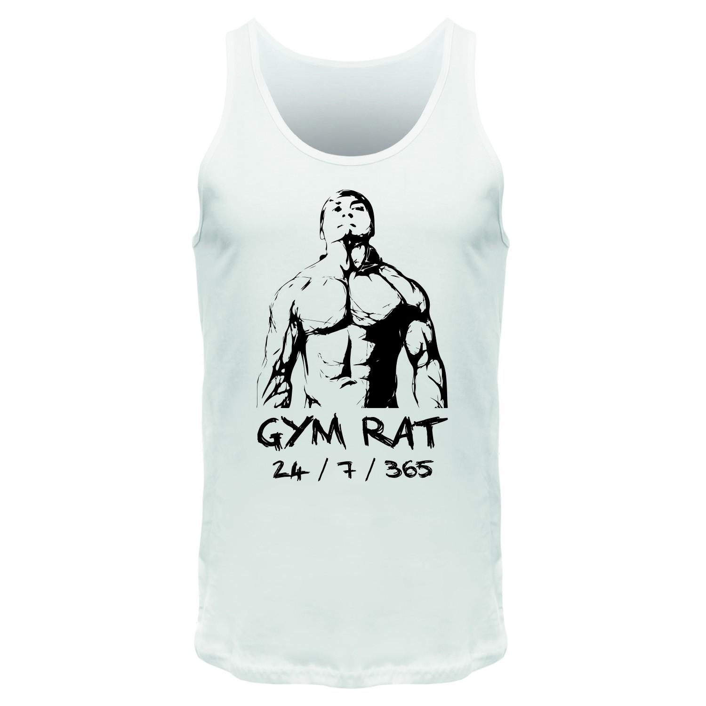 GYM RAT 24 / 7 / 365 - Männer Tank Top