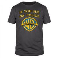 If You See Da Police Warn A Brother - Männer T-Shirt