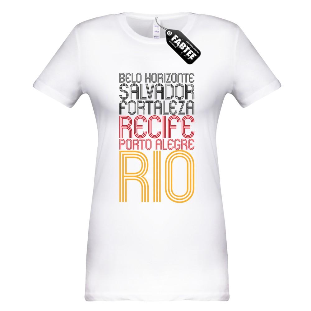 Austragungsorte - Fussball WM Frauen T-Shirt