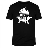Born to Grill - Männer Organic T-Shirt