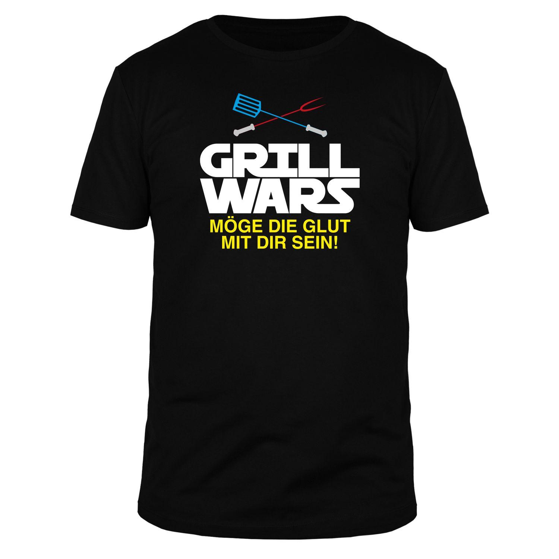 Grill Wars Möge die Glut mit dir sein - Männer T-Shirt