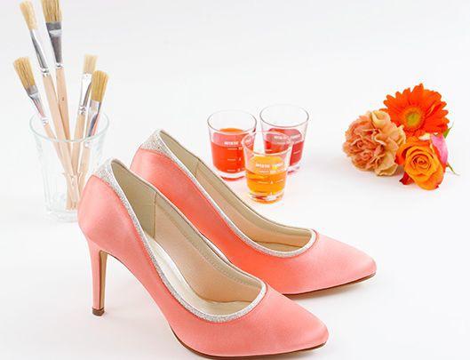 Einfärbeservice - Rainbow Club Schuhe