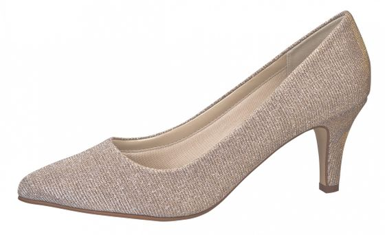 Rainbow Club Brautschuhe Brooke - Gold Metallic