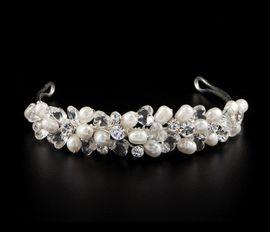 Hochzeit Perlen Diadem Diana 001