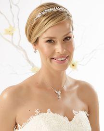 Hochzeit Perlen Diadem