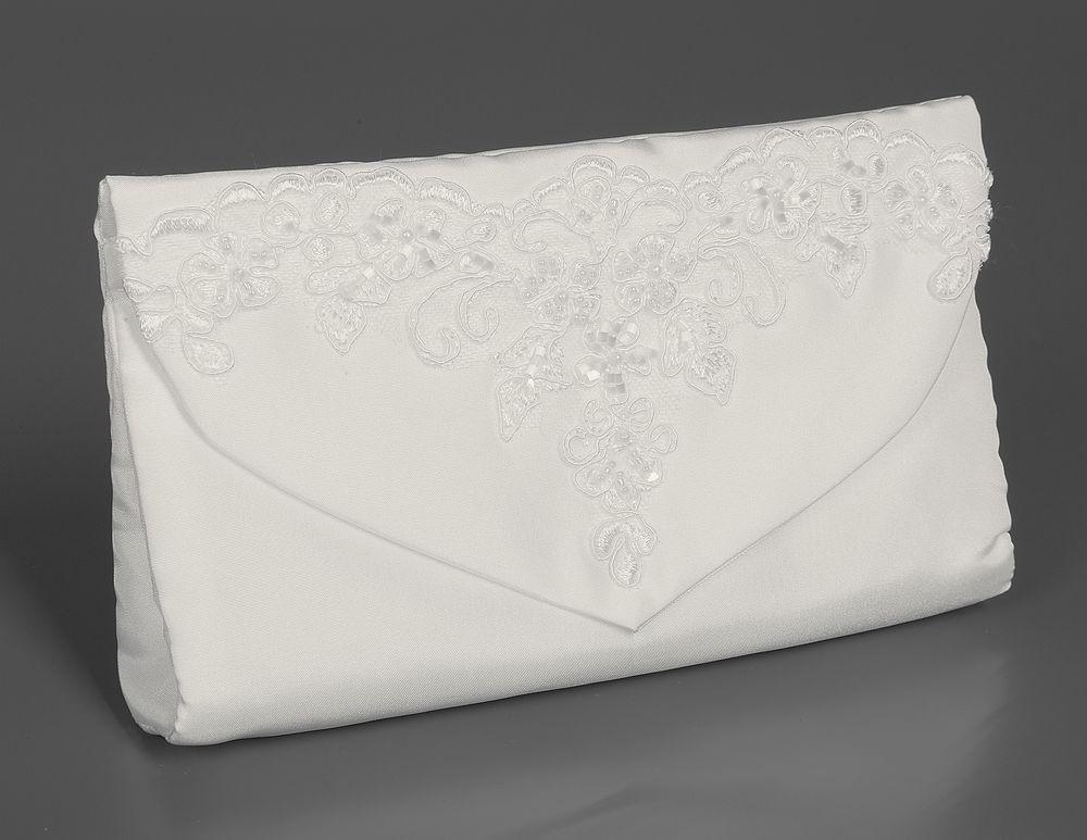 Brauttasche in Clutch-Form