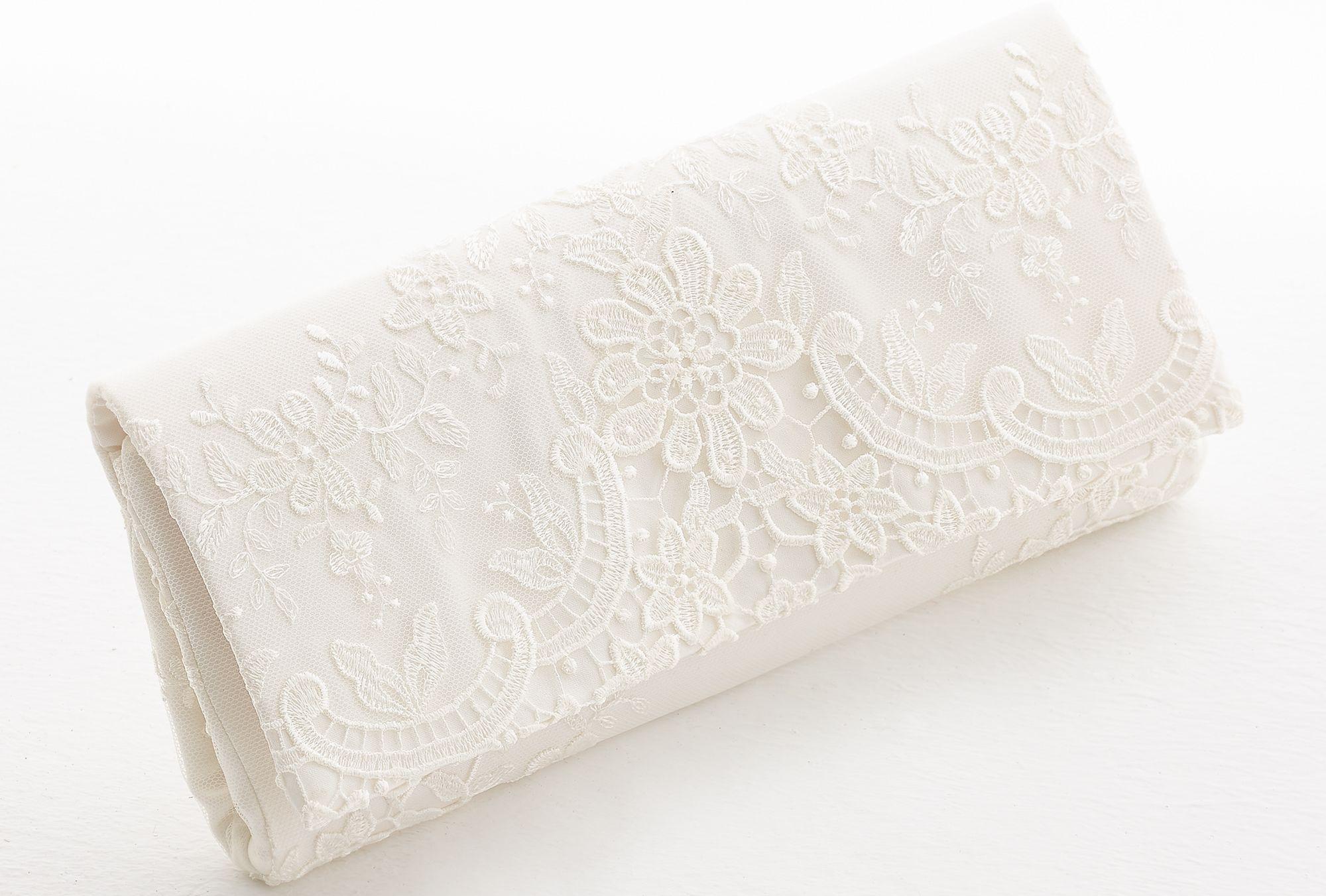 Brauttasche mit Spitze