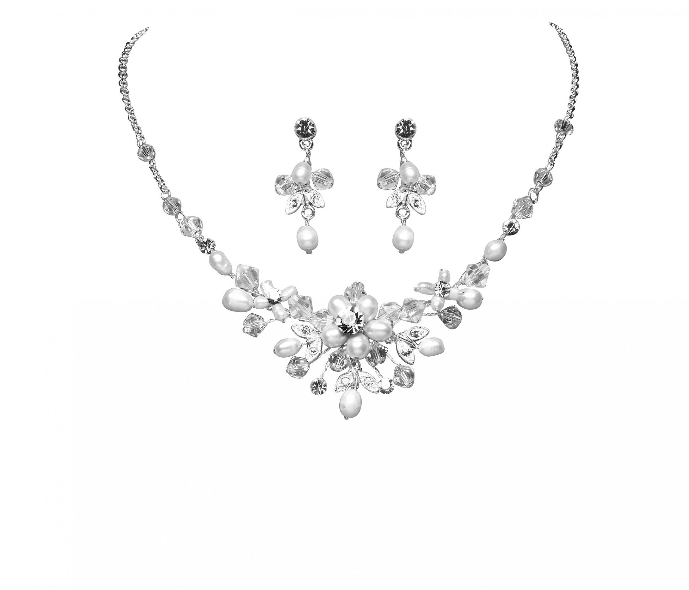 Hochzeitsschmuck  Hochzeitsschmuck Set Colliers Colliers Perlen