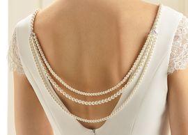 Rückenkette mit Perlen N37