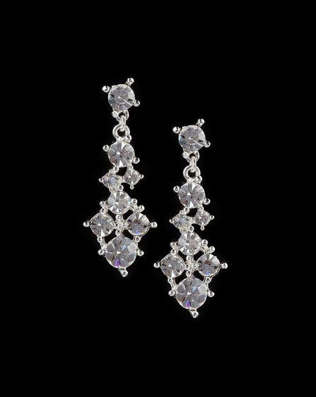Kristall Ohrringe