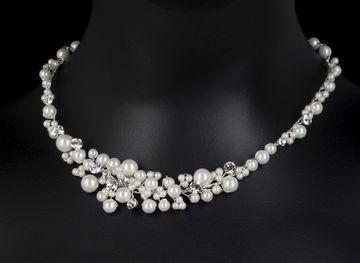 Brautschmuck perlenkette  Perlenkette Colliers Colliers Perlen