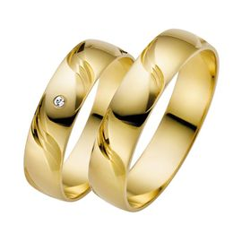 Trauring Set Gelbgold 03636 001