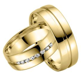 Trauring Set Gelbgold 07138 001