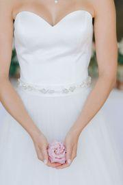 Brautgürtel ivory