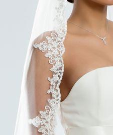 Brautschleier Abbie Länge 300 cm; einstufig
